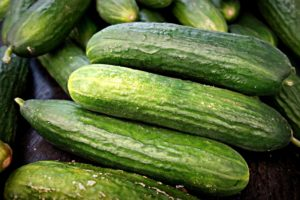 slicing cucumbers image